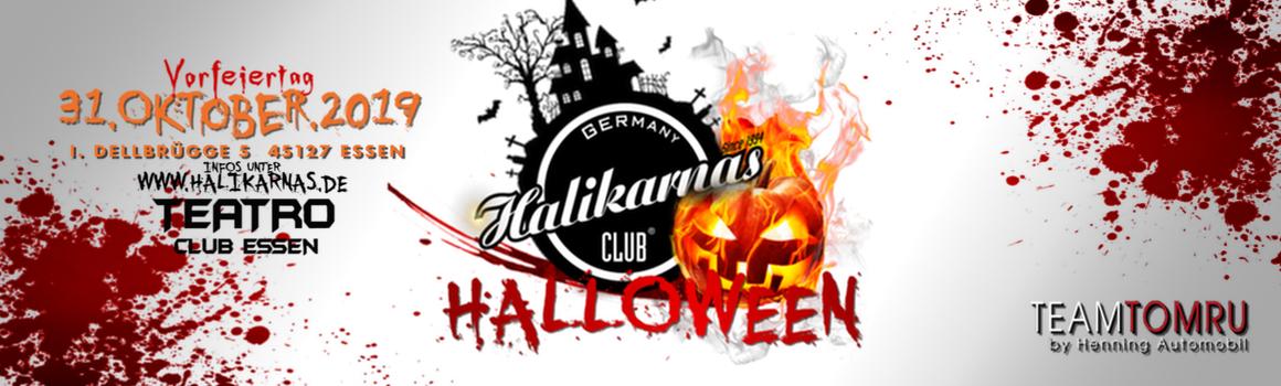 Do. 31.10. Halikarnas Halloween Special im Teatro Club Essen New Location (Vorfeiertag)
