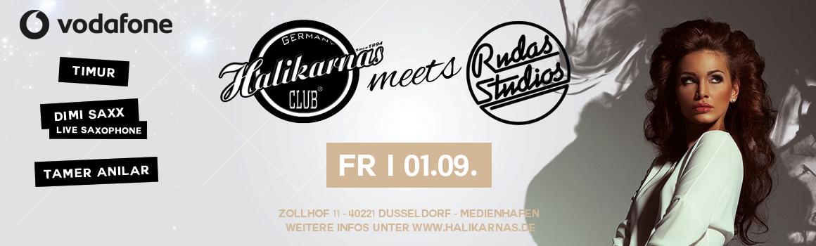 Fr. 01.09. Halikarnas meets Rudas Studios ( Düsseldorf )