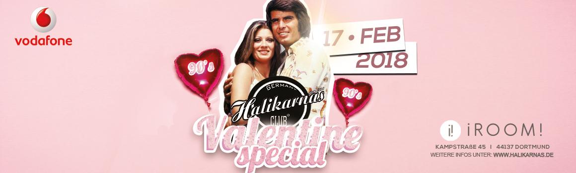 17.02. Halikarnas 90's Valentine Special @ iRoom Dortmund