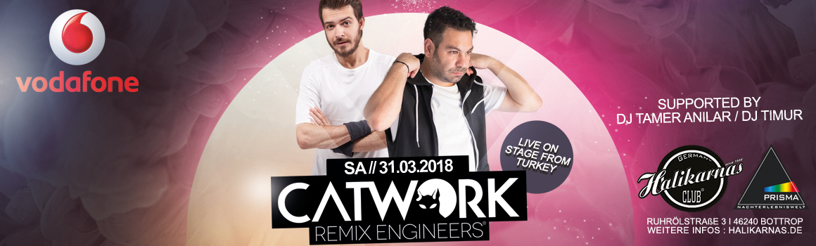 31.03. Halikarnas @ Prisma Bottrop with CATWORK Remix Engineers