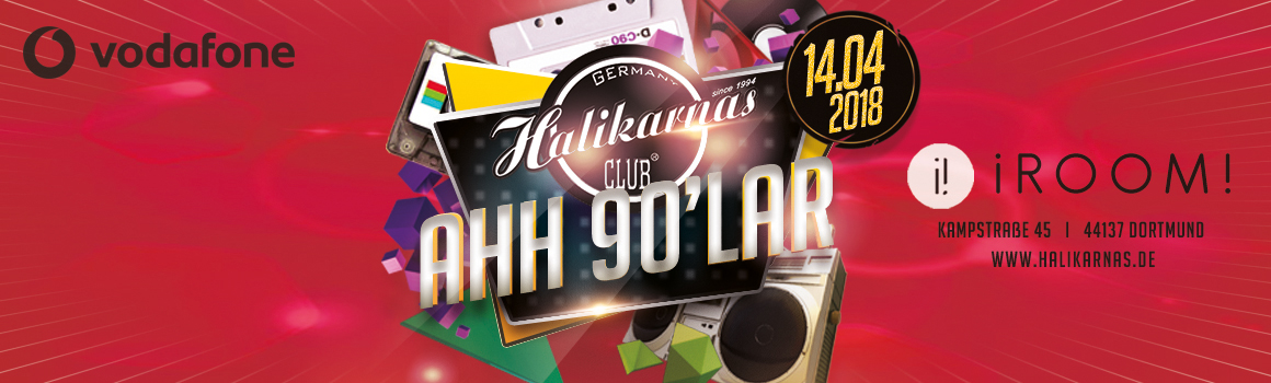 Sa. 14.04. Halikarnas 90's Turkish Pop Edition @ iRoom