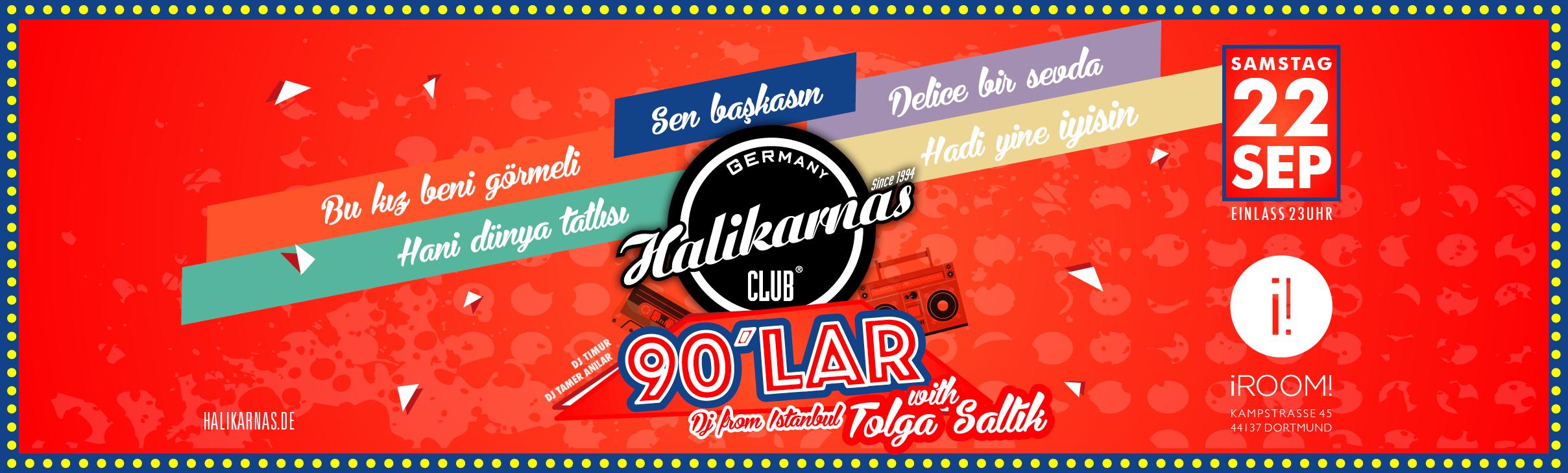 22.09. Halikarnas 90's Turkish Pop Edition @ iRoom