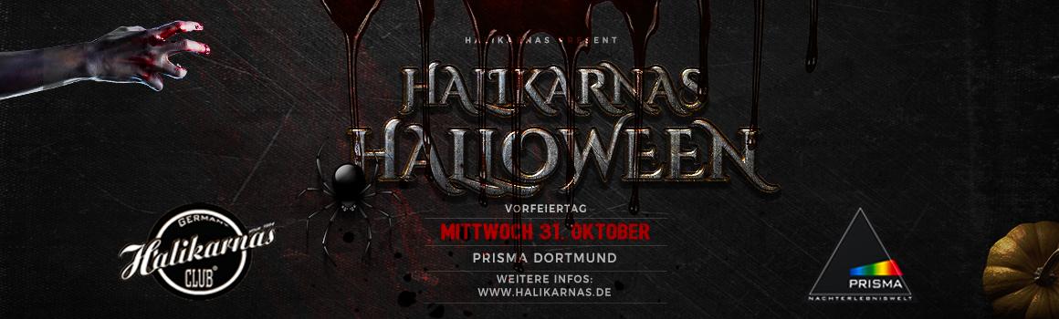 Mi. 31.10. Halikarnas Halloween Special in Prisma Dortmund