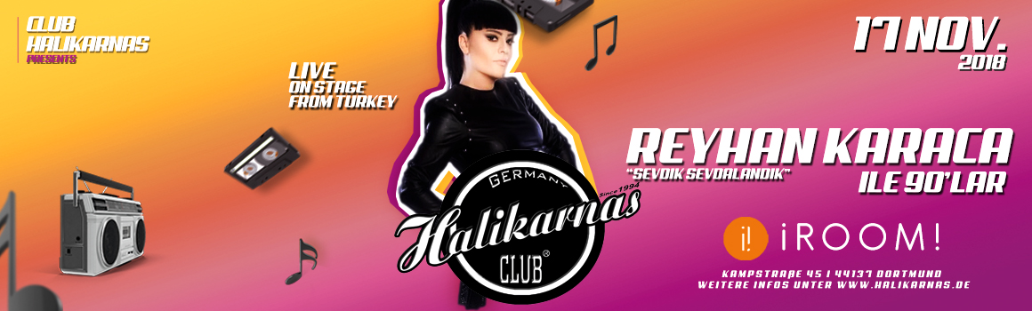 17.11. Halikarnas 90's Turkish Pop Edition @ iRoom