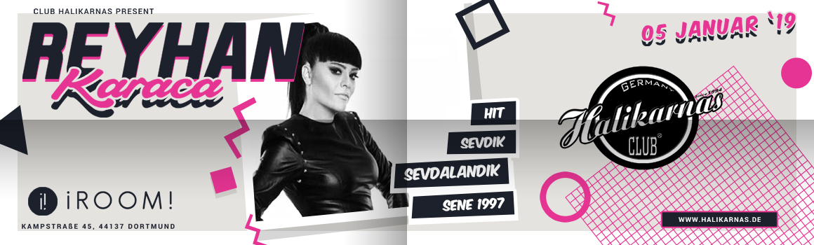 05.01. Halikarnas 90's Turkish Pop with Reyhan Karaca @ iRoom