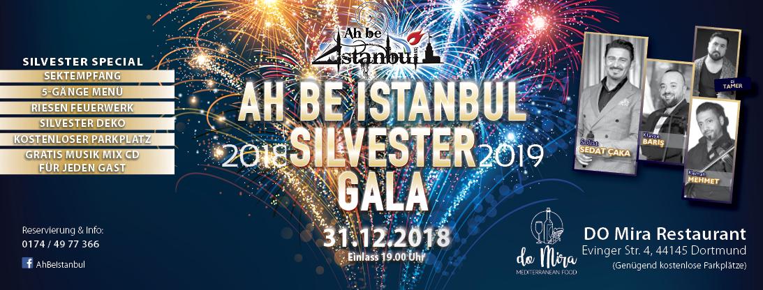 Ah Be Istanbul Silvester Gala 2019 Dortmund