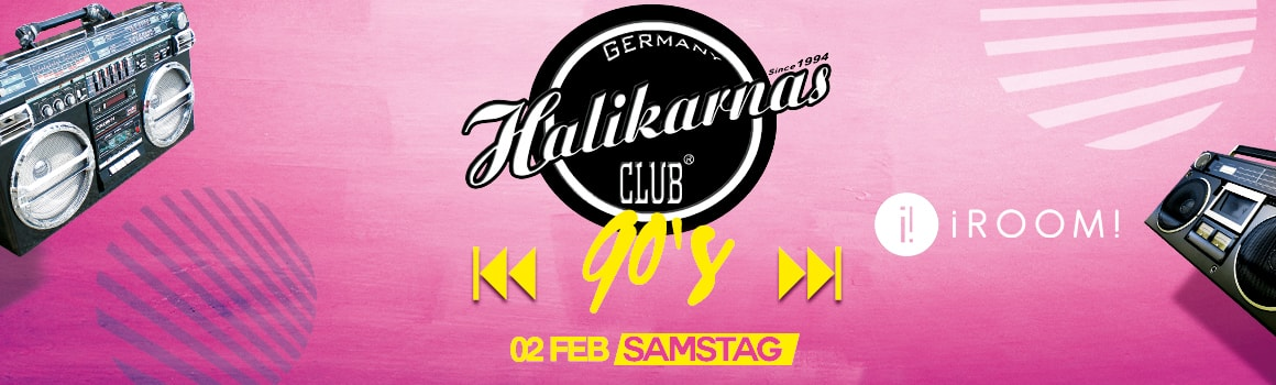 02.02. Halikarnas 90's Turkish Pop Edition @ iRoom