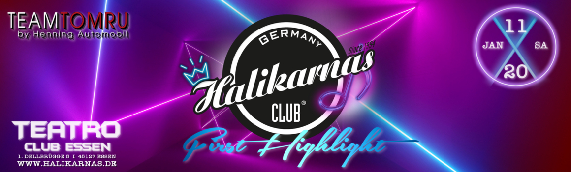 11.01. Halikarnas First Highlight @ Teatro Club Essen
